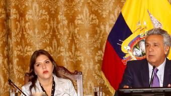 Die Sozialistin María Alejandra Vicuña ist zur neuen Vizepräsidentin Ecuadors gewählt worden und steht damit Präsident Lenin Moreno bei der Führung des Landes zur Seite.