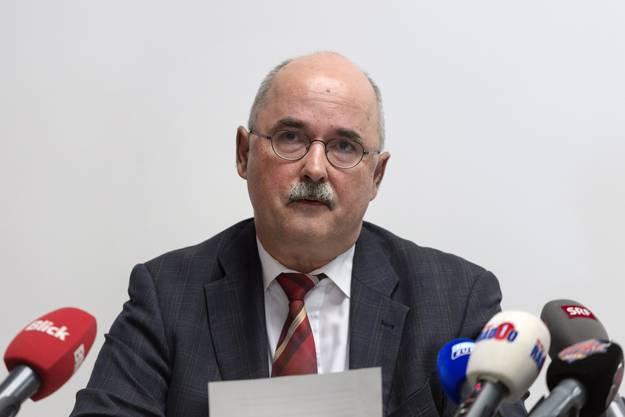 Thomas Manhart, Chef des Amtes für Justizvollzug