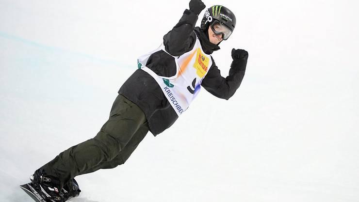 Iouri Podladtchikov setzte mit dem besten Lauf in den Halbfinals eine Durftmarke