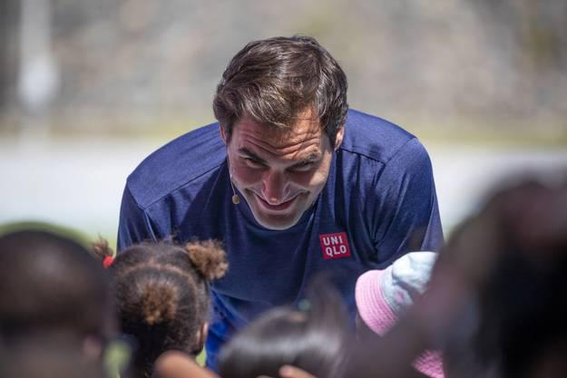 Im Februar stand Roger Federer letztmals auf dem Tennisplatz, als er in Südarfrika mit einem Schaukampf Geld für seine Stiftung sammelte.