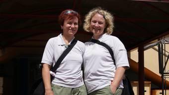 Sandra Pauli und Petra Kölliker  . . .