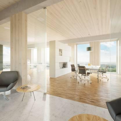 In einem Wohnzimmer aus Holz leben wir gesünder.