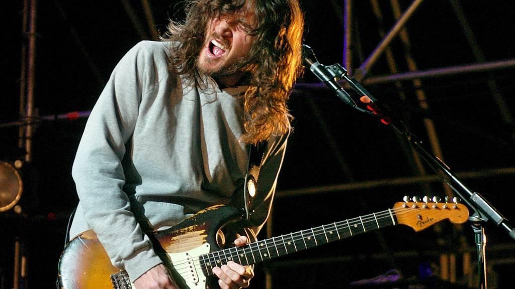 Red Hot Chilli Peppers: Rückkehr von Gitarrist Frusciante