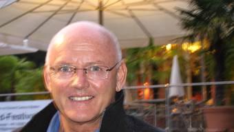 Rolf Knie: Das historische Ambiente inspiriert den Künstler. (Bild: Ursula Burgherr)