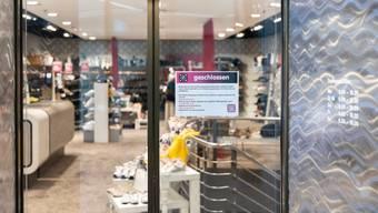 Geschäfte, die während dem Corona-Lockdown schliessen mussten, sollen noch 40 Prozent der Miete bezahlen müssen.