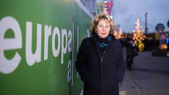 Agnes Weber auf der Europaallee in Zürich, wo die gebürtige Wohlerin seit Jahren lebt.