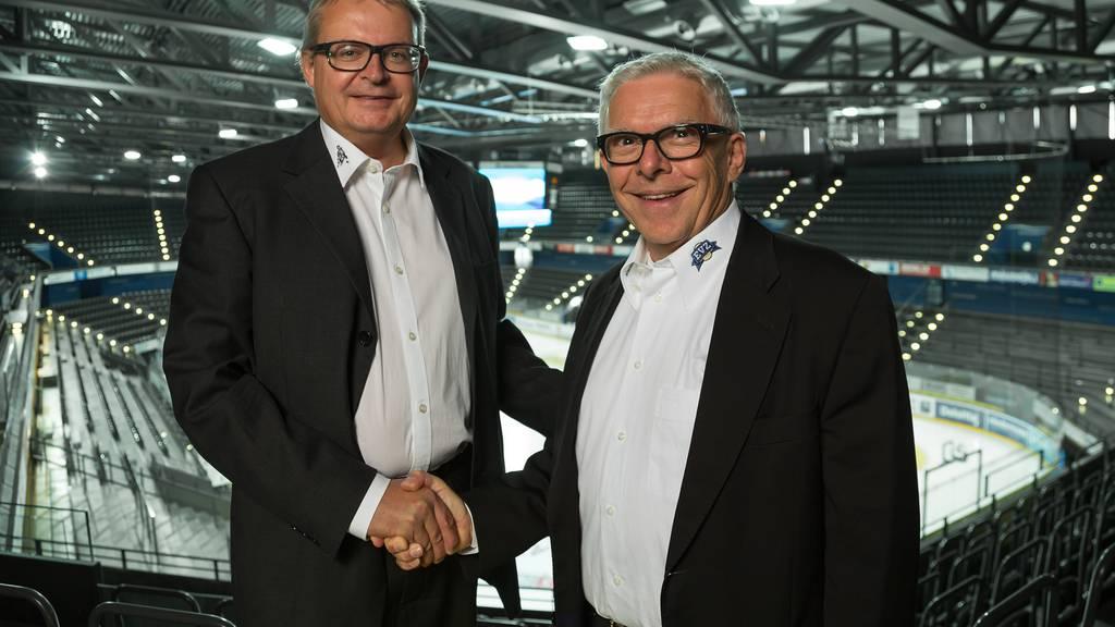 Hans-Peter Strebel wird neuer EVZ Präsident