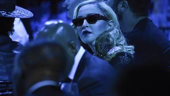 Madonna ist in der vergangenen Nacht in Israel eingetroffen. Beim ESC-Finale am nächsten Samstag will sie mit zwei Songs auftreten, hat jedoch laut Medien den entsprechenden Vertrag noch nicht unterschrieben. (Archivbild)
