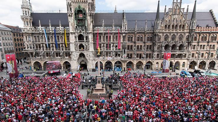 Eine öffentliche Meisterfeier von Bayern München wie im Vorjahr nach dem Double-Gewinn wird es in diesem Jahr nicht geben