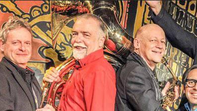 Die Bourbon Street Jazz Band aus Luzern gastiert in Wangen.