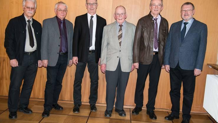 von links: K. Fedeli, H. Eberhard, R. Laesser, R. Leemann, M. Hagmann, P. Fromm. Es fehlt: B. Suter