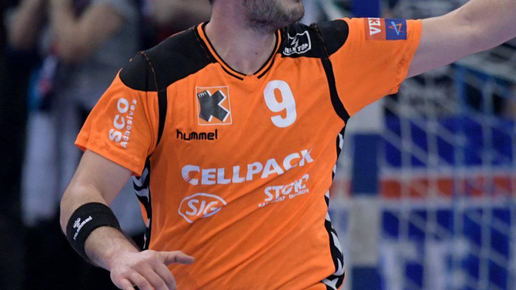 Andrija Pendic war der beste Spieler der Kadetten