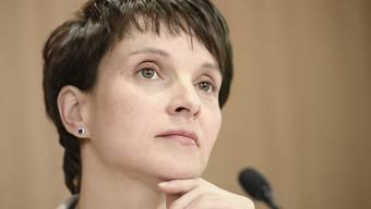 Will nicht AfD-Spitzenkandidatin für die Bundestagswahl werden: AfD-Chefin Frauke Petry.