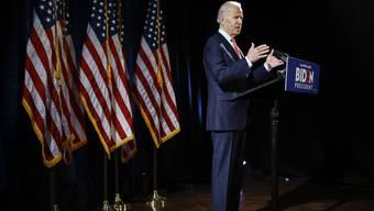 Er tritt gegen Donald Trump an: Joe Biden.