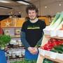 Linda (29) und Manuel Schmutz (31) handeln mit gesunden Lebensmitteln.