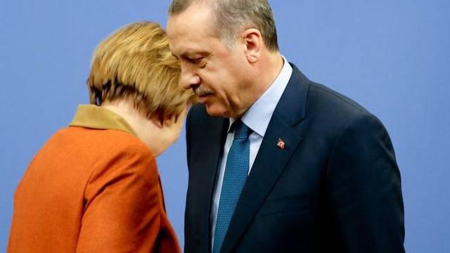 Angela Merkel und Recep Tayyip Erdogan bei ihrem Treffen in Ankara