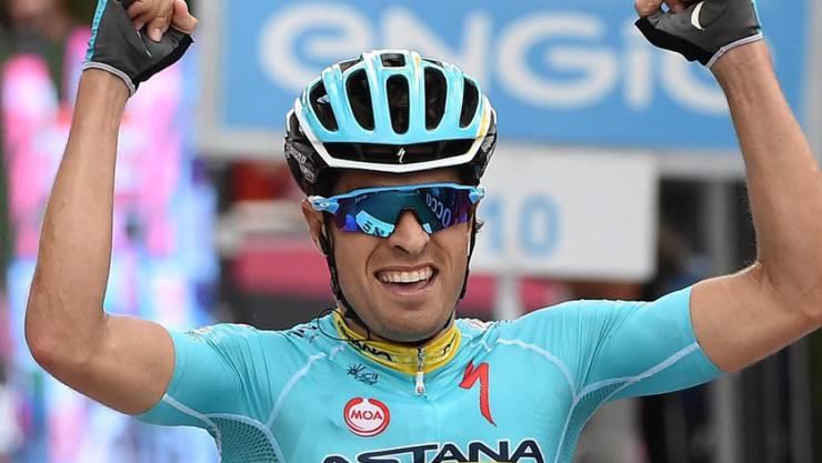 Der Spanier Mikel Landa gewinnt die Königsetappe beim Giro d'Italia und rückt im Gesamtklassement auf Rang 2 vor