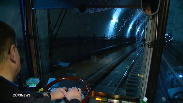 Immer noch Tramverspätungen wegen Tunnelbrand