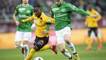 Im Titelkampf zwischen St. Gallen und YB kann sich keiner durchsetzen