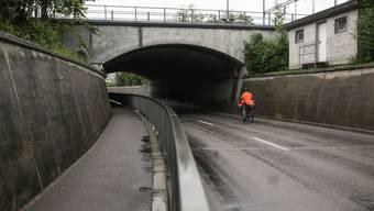 Für Velofahrer ist es auf der Kantonsstrasse nicht ungefährlich.