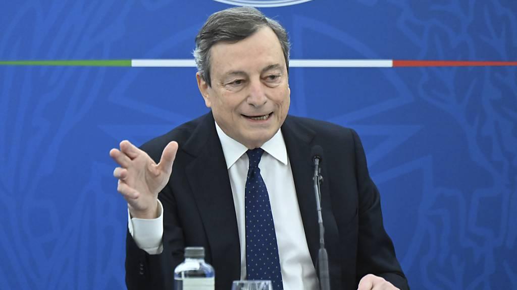 Draghi will mit EU-Geldern Italiens Nord-Süd-Gefälle schmälern