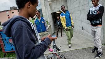 Viele minderjährige Asylbewerber stammen aus Eritrea