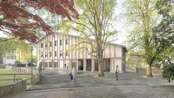 Das Projekt «Chilematt» von Meier Leder Architekten Baden. ZVG