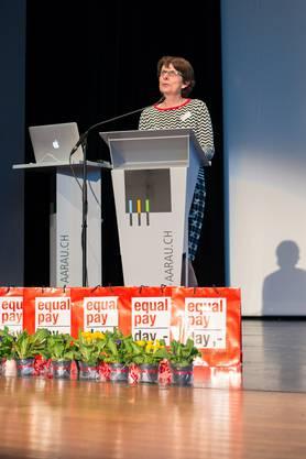 Grusswort von Stadtpräsidentin Jolanda Urech an die Teilnehmerinnen