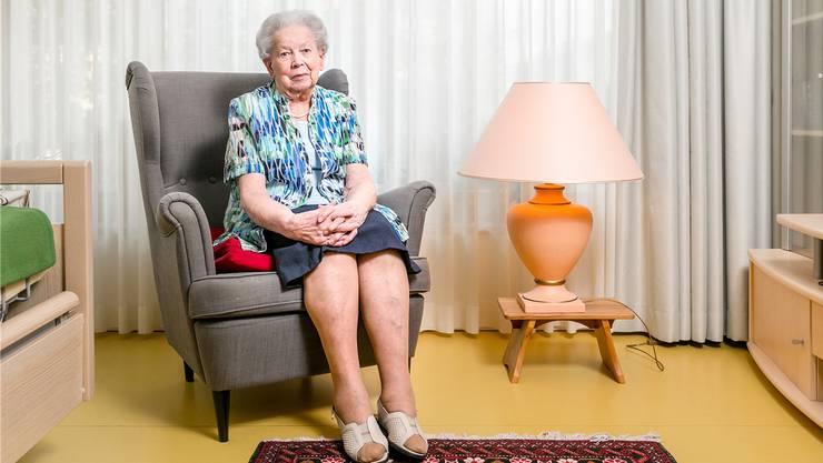 Ida Isler, 97, ist zufrieden mit dem Verlauf ihres Lebens – ihre Enkelin bezeichnet sie als Kämpfernatur.