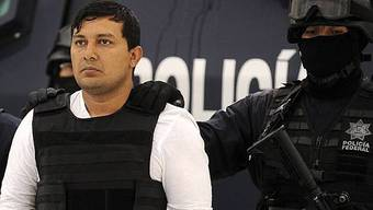 Rejón Aguilar nach der Festnahme