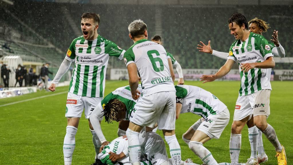 FCSG ist Abstiegssorgen los und ballert Lausanne mit 5:0 aus Kybunpark