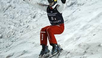 Der junge Schweizer Skiakrobat Noé Roth will auch in der bevorstehenden Weltcup-Saison ganz zuvorderst landen