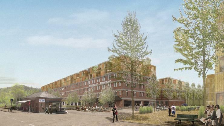 2016 sollen die Wohnungen bezugsbereit sein.