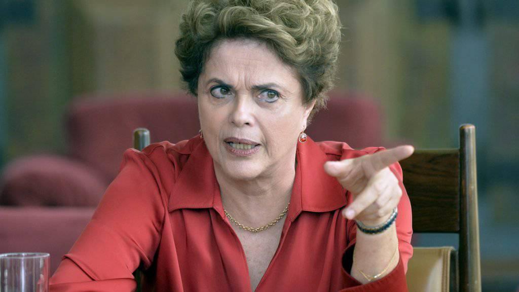 Fordert Gerechtigkeit vom Senat: Brasiliens suspendierte Präsidentin Dilma Rousseff.