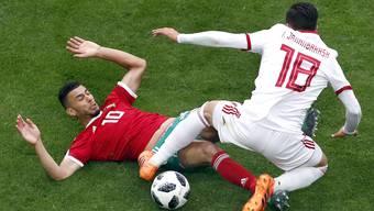 WM 2018: Impressionen von der Partie Marokko - Iran