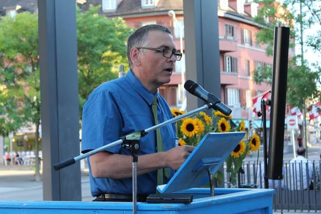 Der Präsident des Stadtvereins Dietikon, Lucas Neff, freut sich über die 100 Jahre des ehemaligen Verkehrsvereins