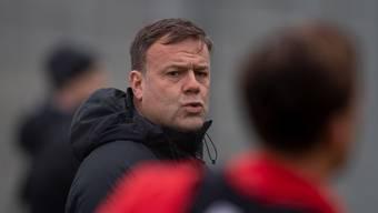 Hat von seiner Mannschaft das Vertrauen ausgesprochen bekommen: FCA-Trainer Patrick Rahmen