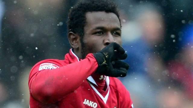 Mame Diouf besorgte Hannover die 1:0-Führung.