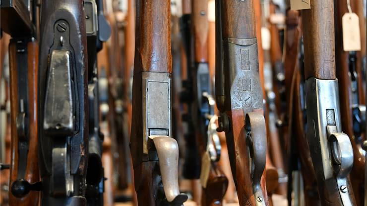 Es stimmt zwar, dass im Aargau mehr Waffen als in anderen Kantonen gekauft werden.