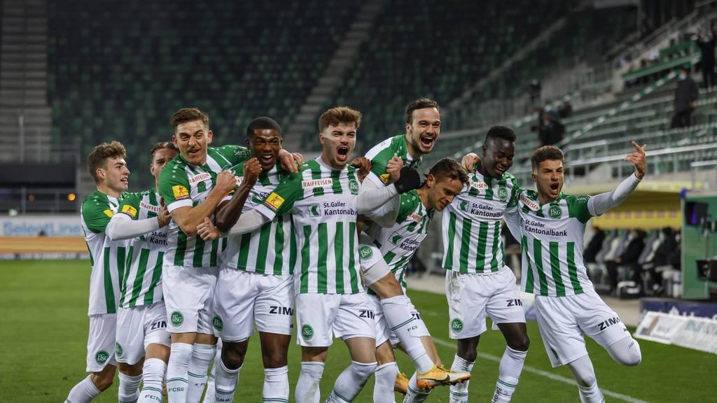 FCSG siegt dank überzeugendem Auftritt 3:1 gegen Basel