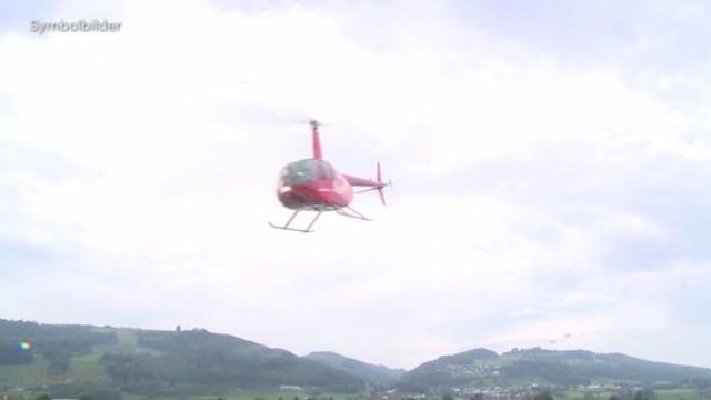 Pilot stirbt bei Helikopter-Unfall