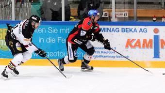 Keine Punkte für den EHC Basel im Berner Oberland gegen den EHC Thun