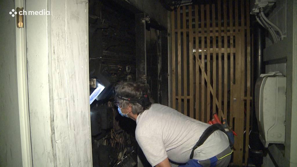 Brand in Elekrokasten: 20 Wohnungen in Rohr nicht mehr bewohnbar