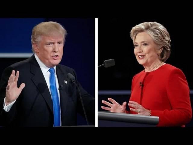 Die erste TV-Debatte zwischen Donald Trump und Hillary Clinton.