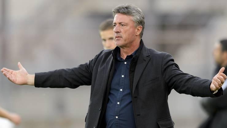 Der FC Aarau will Marco Schällibaum, Marco Schällibaum will zum FCA. Nur noch die letzten Formalitäten mit Chiasso fehlen.