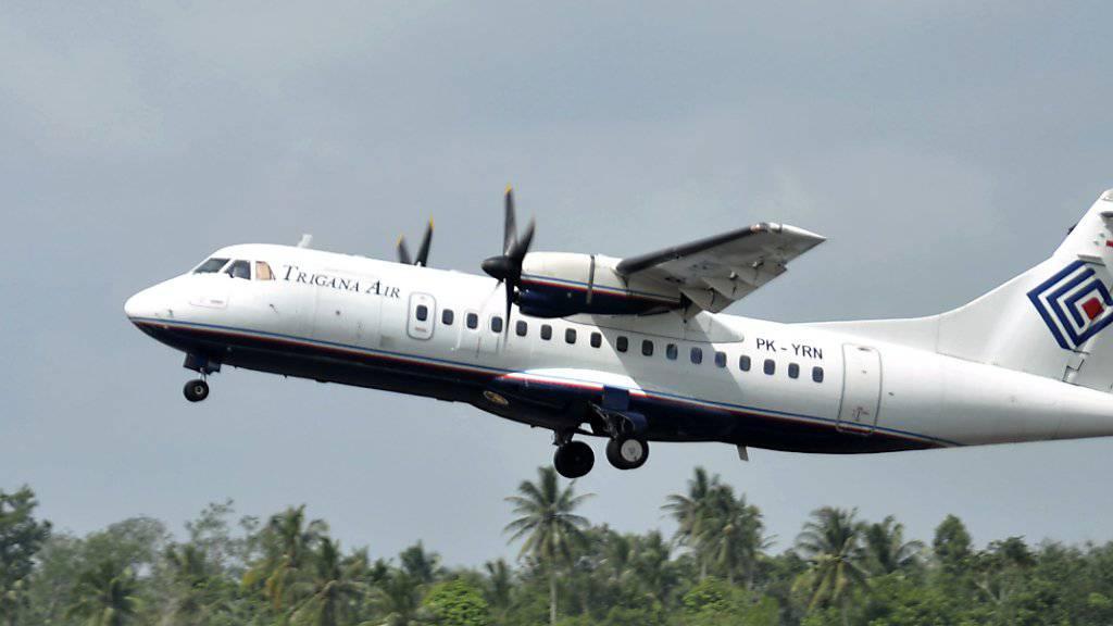 Eine solche Maschine der Trigana Air soll in einem abgelegenen Gebiet in Indonesien abgestürzt sein - mit 54 Personen an Bord. (Archiv)