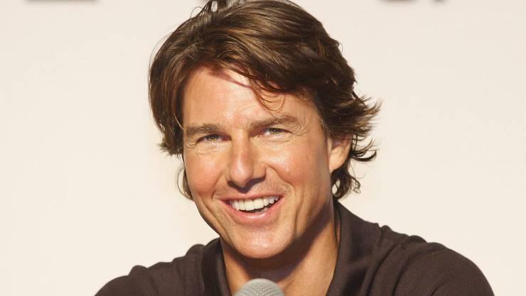 """Tom Cruise am (heutigen) Freitag an der Premiere von """"Mission Impossible : Rogue Nation"""" in Seoul."""