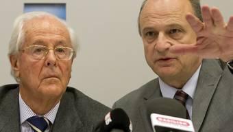 Hauptaktionär Tito Tettamanti und Verwaltungsratspräsident Filippo Leutenegger (Archiv)