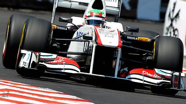Sergio Perez darf wieder fahren