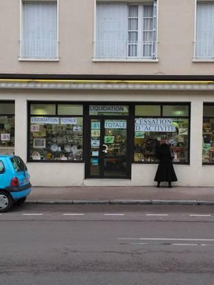 Ein Laden in Le Creusot